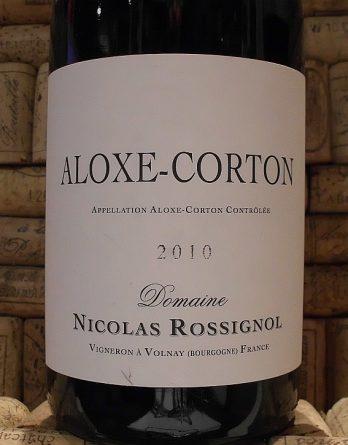 ALOXE CORTON Rossignol