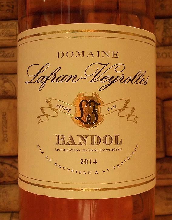 BANDOL ROSE Lafran Veyrolles