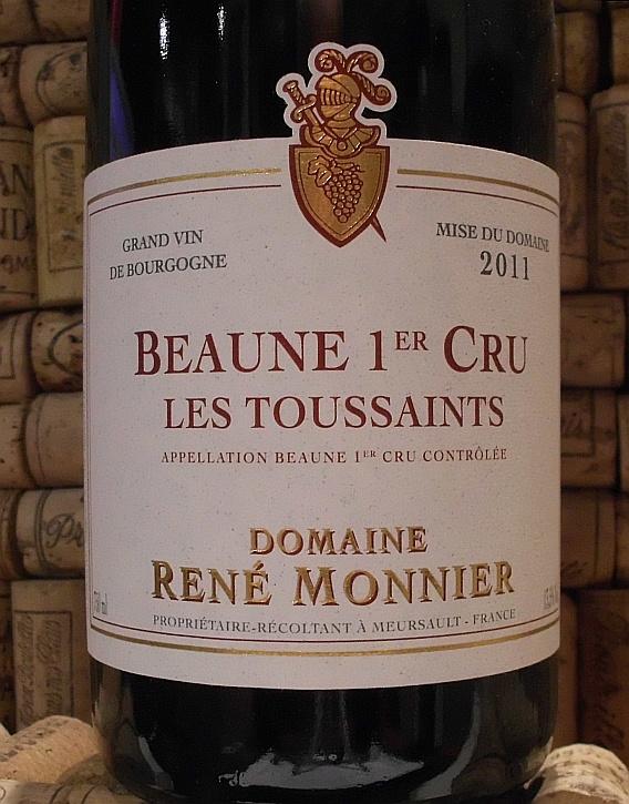 BEAUNE 1er Les Toussaints, Monnier