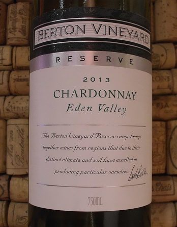 BERTON EDEN VALLEY CHARDONNAY