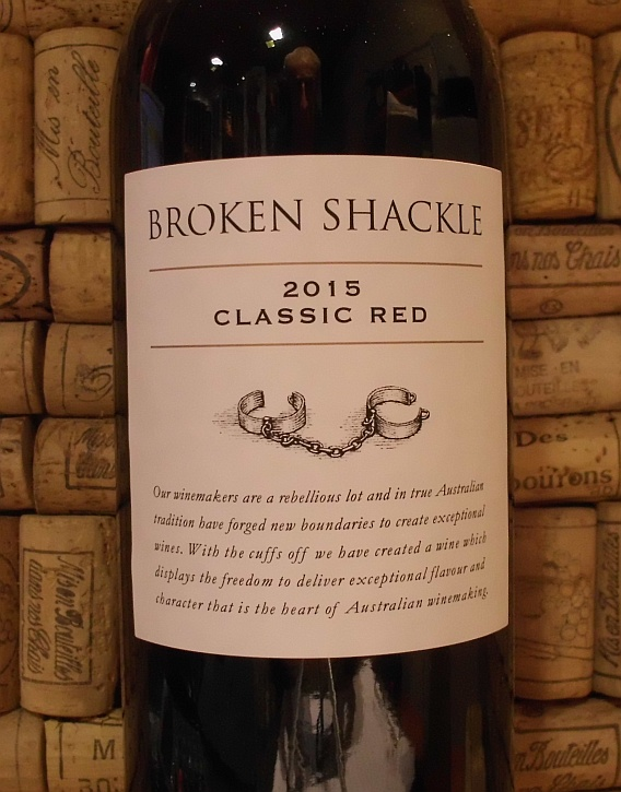 BROKEN SHACKLE CLASSIC RED