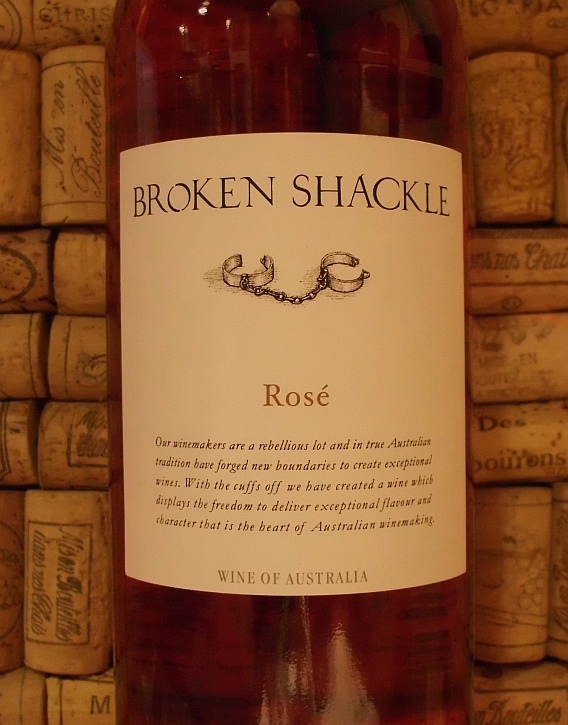 BROKEN SHACKLE CLASSIC ROSE
