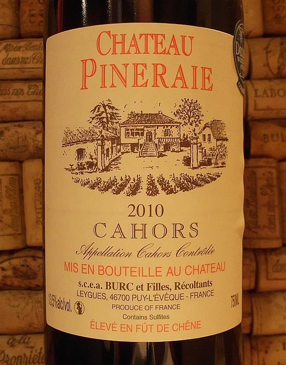 CAHORS Ch Pineraie