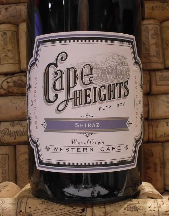 CAPE HEIGHTS SHIRAZ