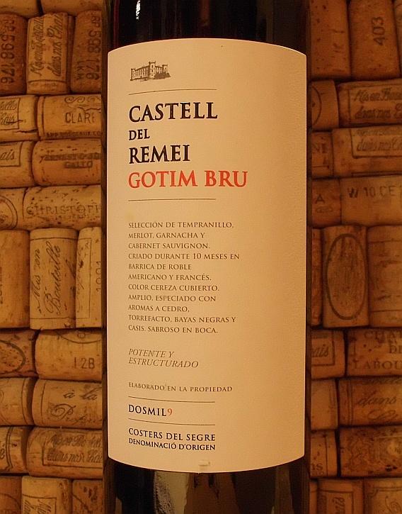 CASTELL DEL REMEI GOTIM BRU