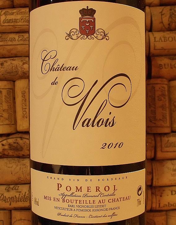 CH DE VALOIS Pomerol