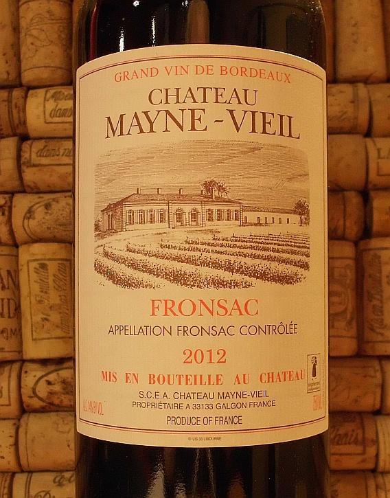 CH MAYNE VIEIL Fronsac