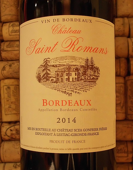 CH SAINT ROMANS Bordeaux