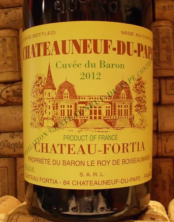 CHATEAUNEUF Fortia Cuvee du Baron
