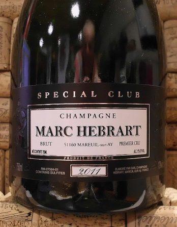 HEBRART CUVEE SPECIAL CLUB 1er CRU