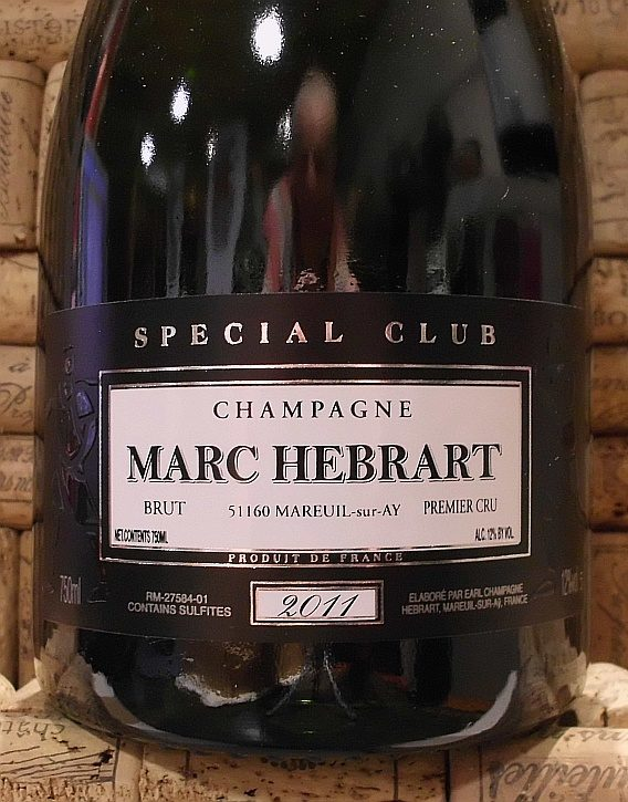 HEBRART CUVEE SPECIAL CLUB 1er CRU