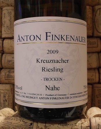 KREUZNACHER RIESLING TROCKEN Finkenauer