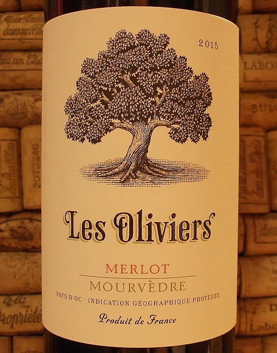 LES OLIVIERS MERLOT MOURVEDRE