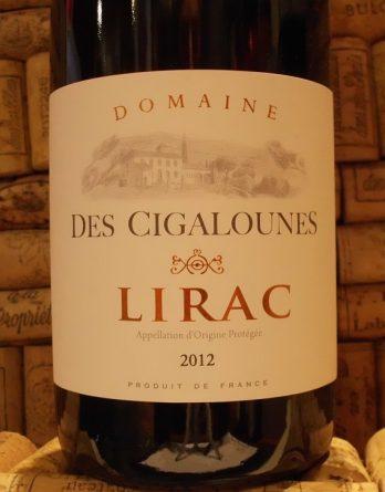 LIRAC ROUGE Cigalounes