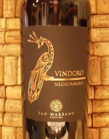 NEGROAMARO SALENTO VINDORO San Marzano