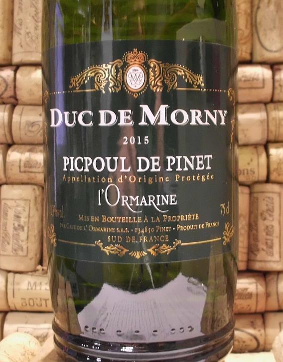 PICPOUL Duc de Morny