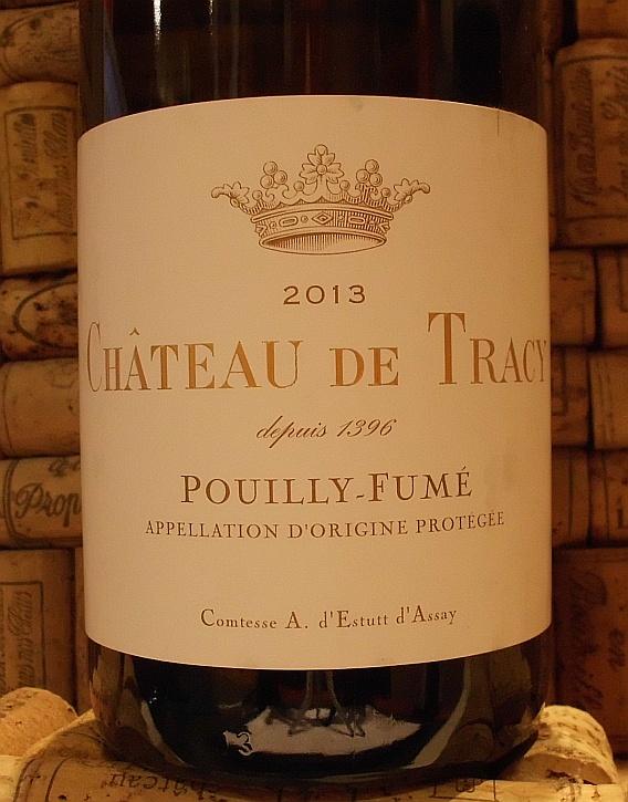 POUILLY FUME Ch de Tracy