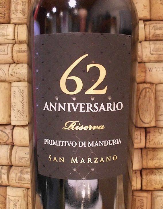 PRIMITIVO 62 Anniversary