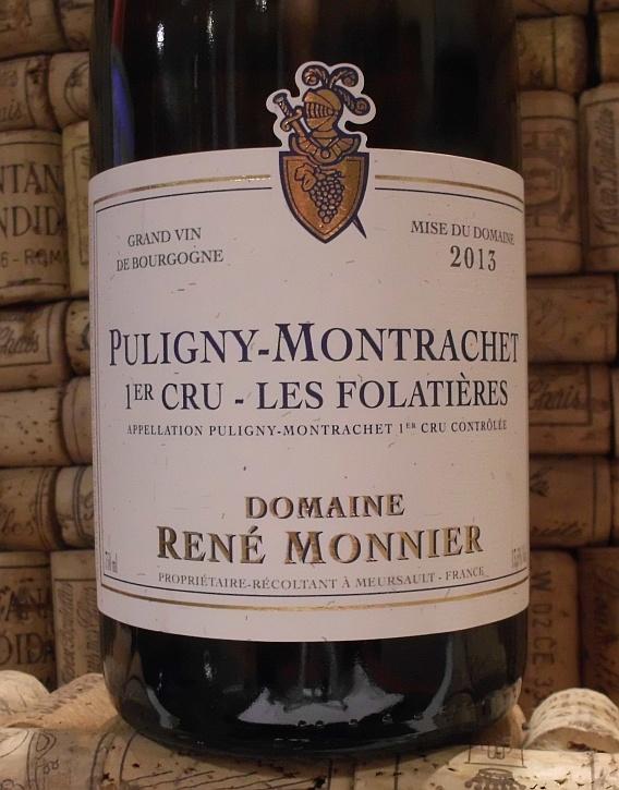 PULIGNY MONTRACHET 1er Les Folatieres, Monnier
