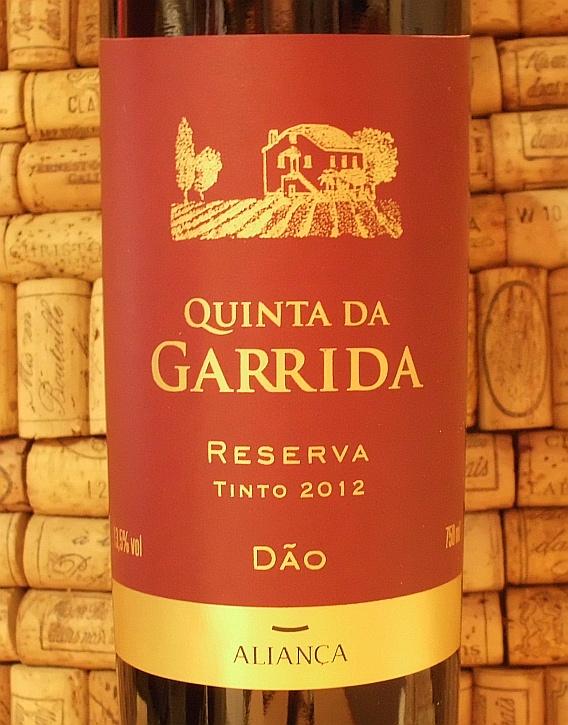 QUINTA DA GARRIDA DAO RED RESERVA