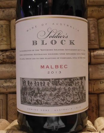 SOLDIERS BLOCK MALBEC