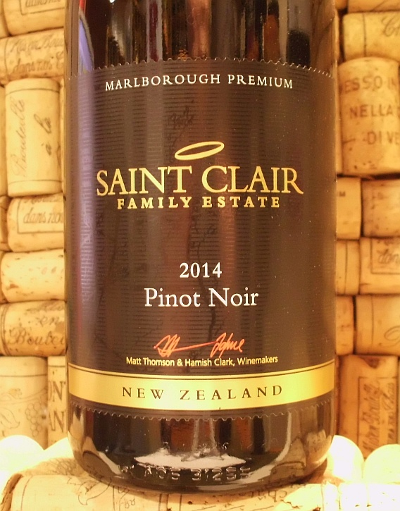ST CLAIR MARLBOROUGH PINOT NOIR