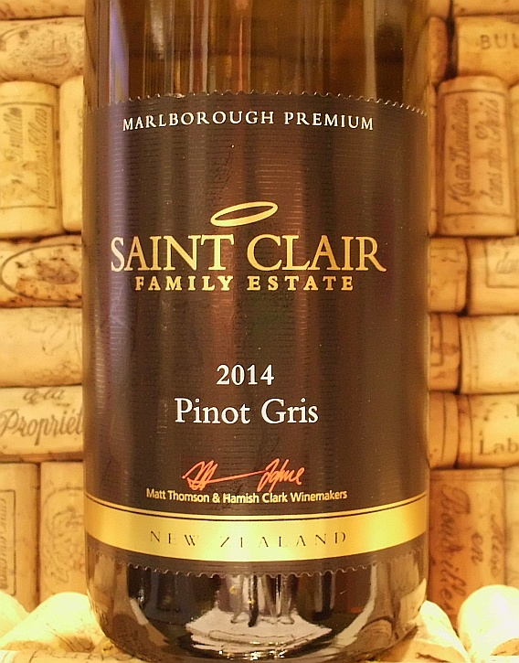 ST CLAIR PINOT GRIS