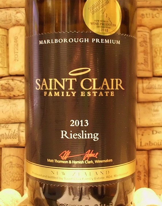 ST CLAIR RIESLING