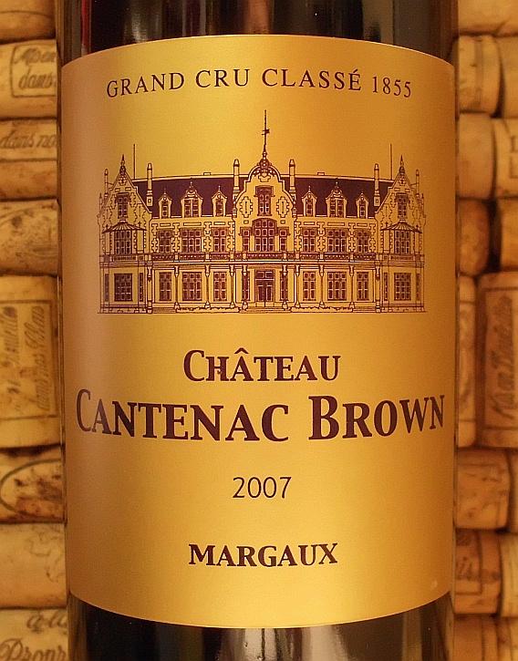 CH CANTENAC BROWN