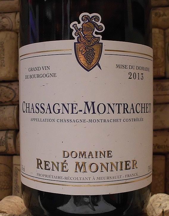 CHASSAGNE MONTRACHET Monnier
