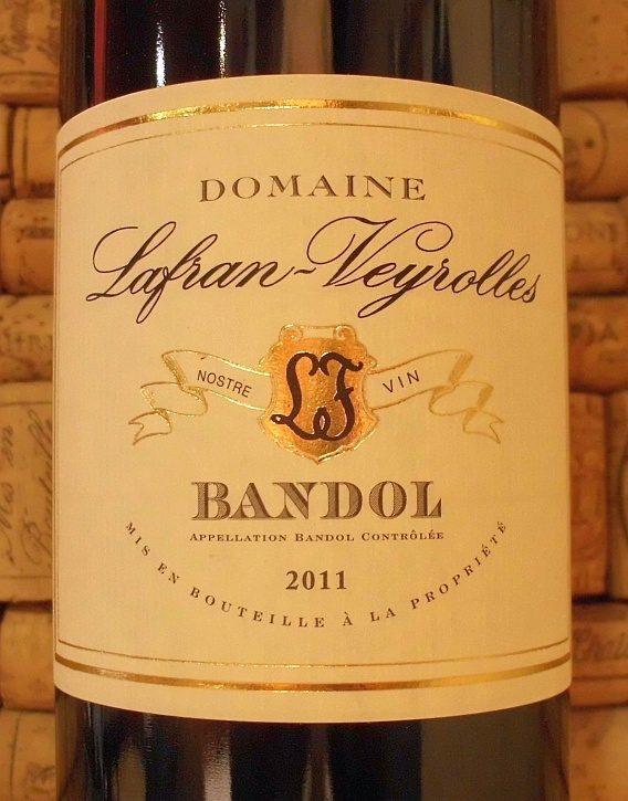 BANDOL ROUGE Lafran Veyrolles