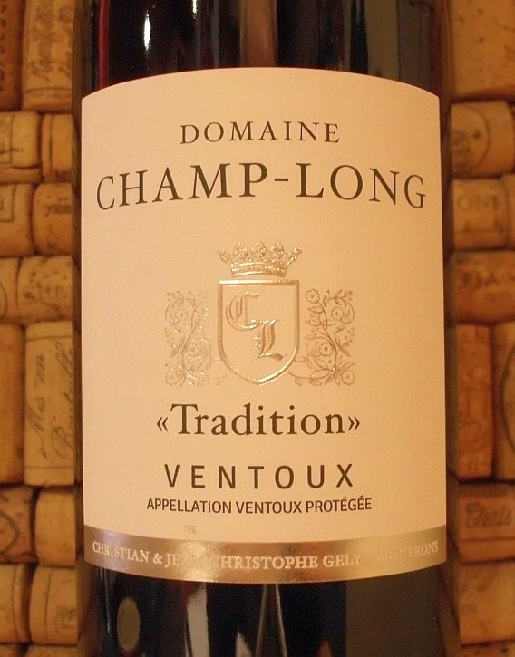 CHAMP LONG VENTOUX ROUGE