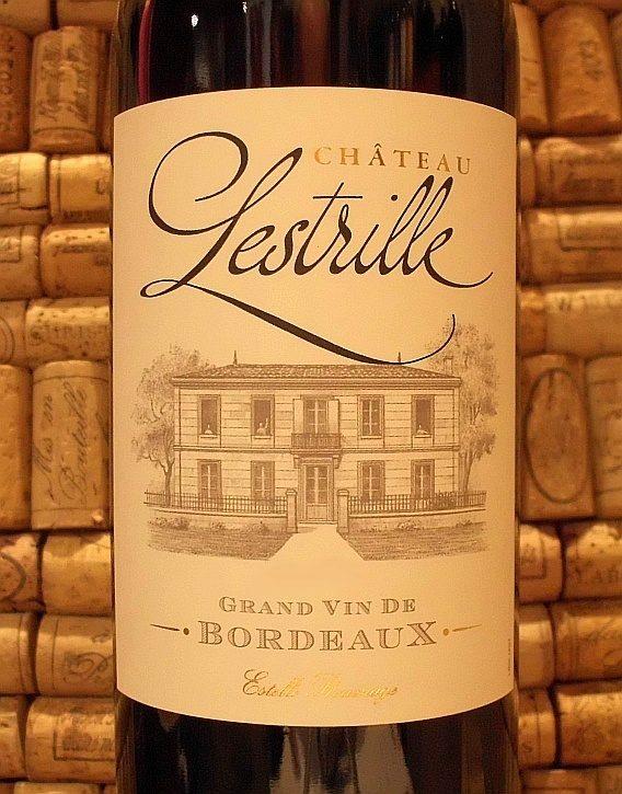 CH LESTRILLE ROUGE Bordeaux Sup