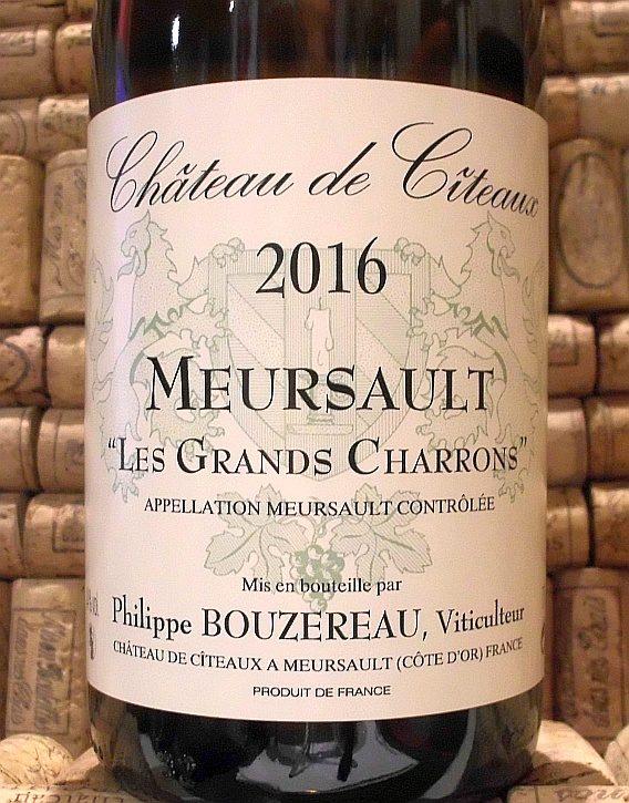 MEURSAULT LES GRANDS CHARRONS Bouzereau