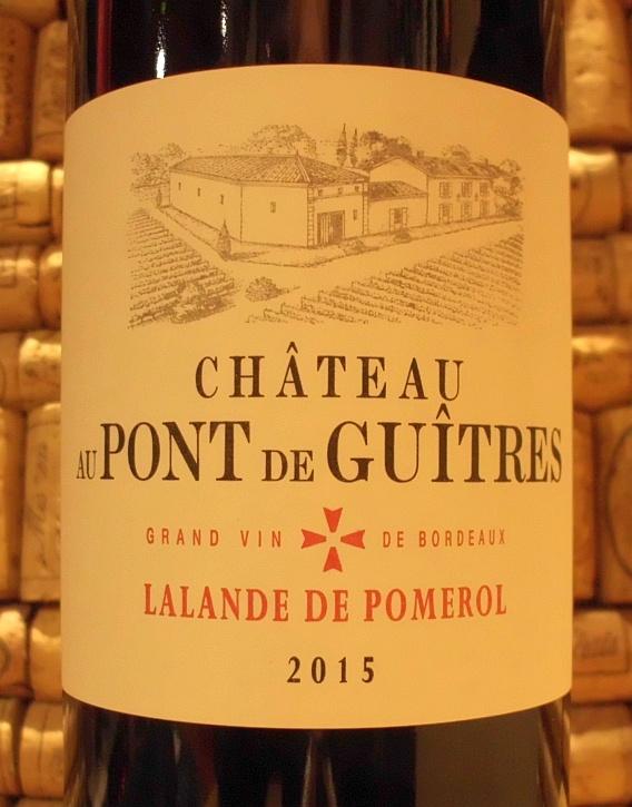 CH AU PONT DE GUITRES Lalande de Pomerol