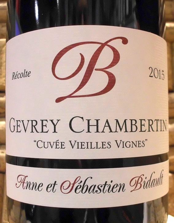GEVREY CHAMBERTIN Domaine Bidault