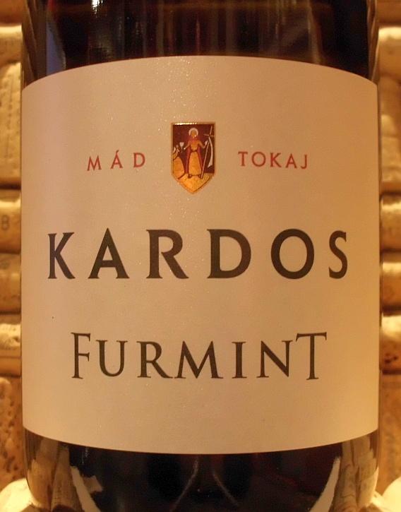 KARDOS VINEYARDS ESTATE DRY FURMINT