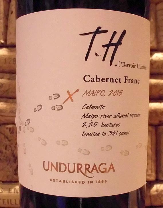 UNDURRAGA TH CABERNET FRANC