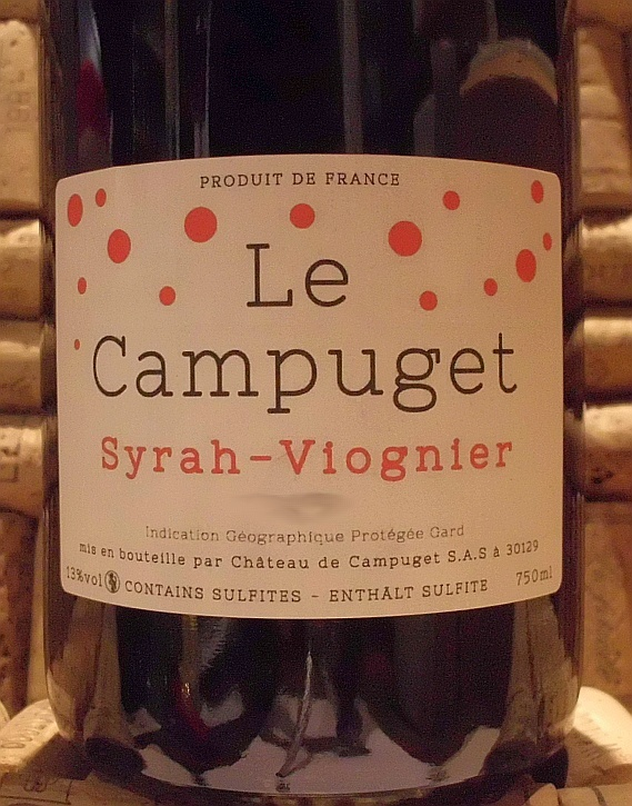CAMPUGET SYRAH VIOGNIER RED