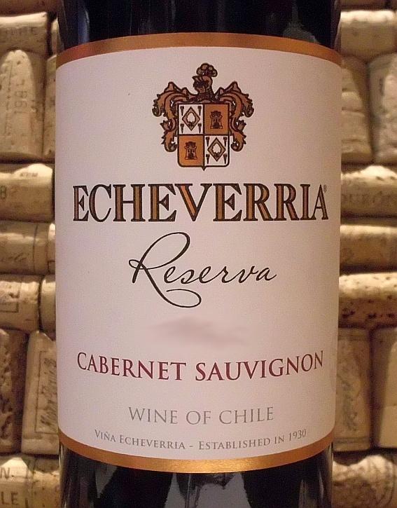 ECHEVERRIA CABERNET-SAUVIGNON RESERVA
