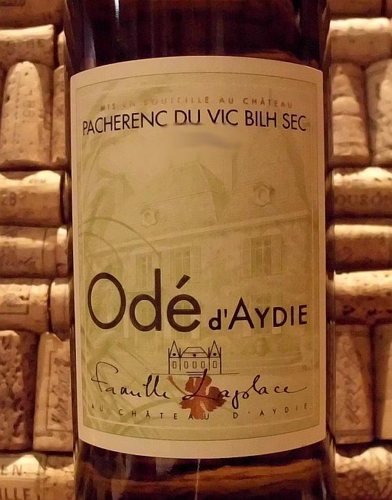 PACHERENC DU VIC BILH SEC Ode d'Aydie