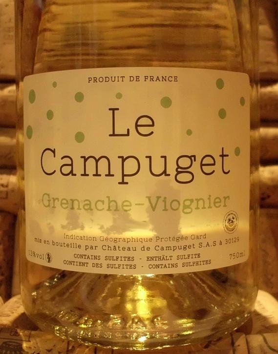 CAMPUGET GRENACHE VIOGNIER WHITE