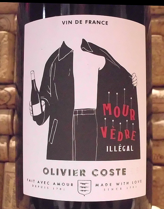 MOURVEDRE 'ILLEGAL' Coste