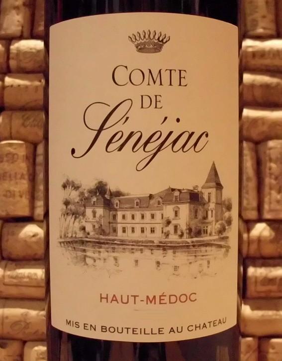 COMTE DE SENEJAC Haut Medoc