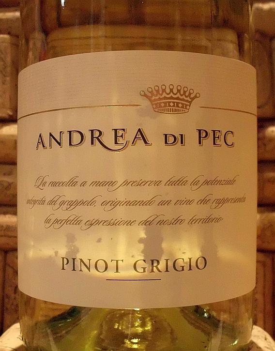 PINOT GRIGIO Andrea di Pec