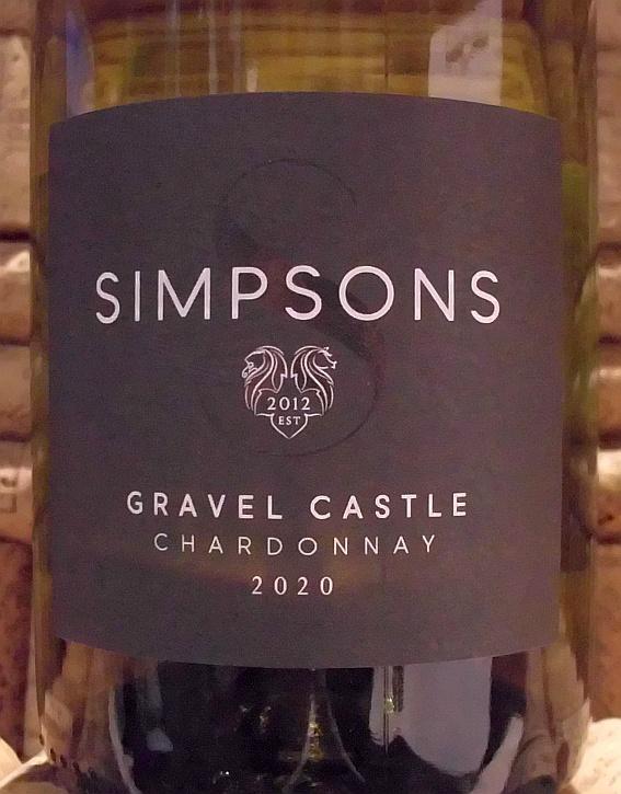 SIMPSON GRAVEL CASTLE CHARDONNAY